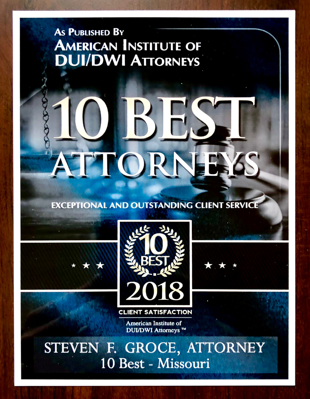 Best DWI/DUI Attorneys, Lawyers Missouri