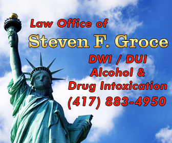 Southern Missouri Drug intoxication, cannabis possession, cultivation criminal defense lawyer