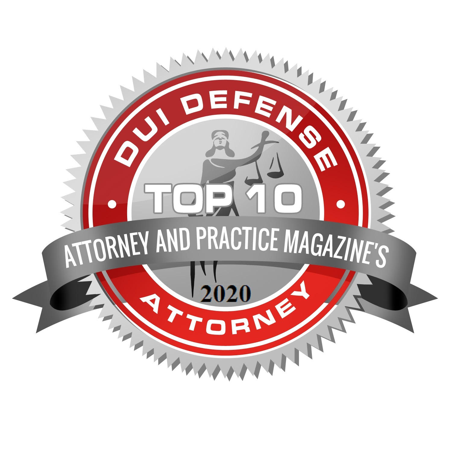 Top 10 DUI Defense Attorney Award